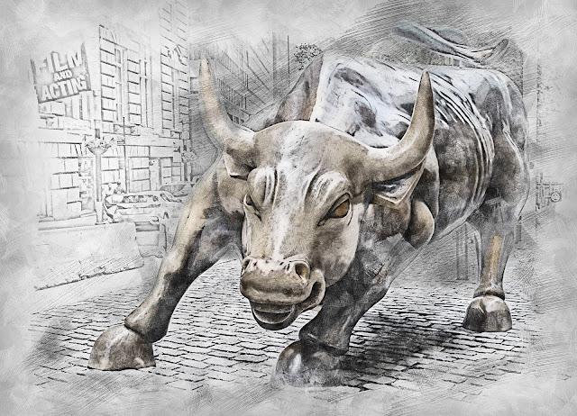 Bull Statue Symbol Animal