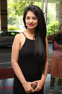 Actress Nikita Bisht Pictures in Black Long Dress at Akritti Elite Exhibition Launch  0012.jpg