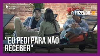 A Fazenda 12 – Carol e Luiza analisam discurso da Lidi  – Escolhas de Lucas são questionada – Peões comentam táticas de Biel