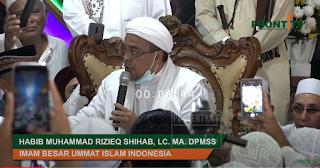 HRS: Prajurit TNI Takbir Ditangkap, Giliran Brimob Gotong Cukong Nggak Masalah