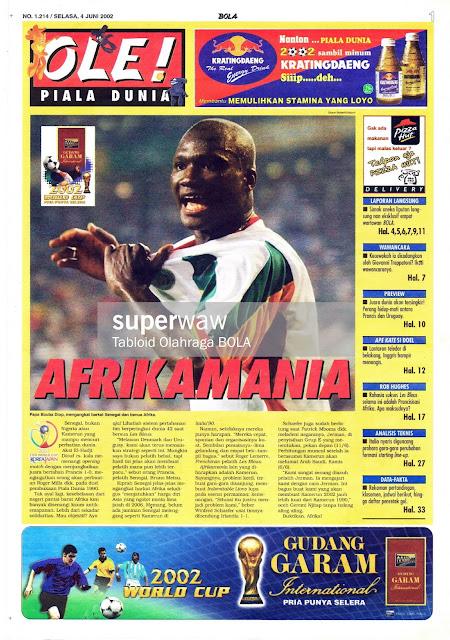 AFRIKAMANIA FOOTBALL SOCCER NEWS