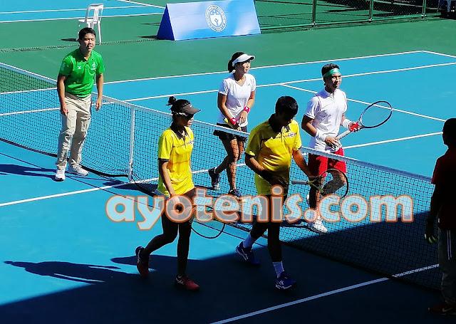 Tenis SEA Games: Ganda Campuran Tenis Indonesia Selangkah Lagi Persembahkan Emas