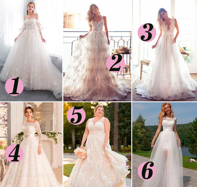 Vestidos de Casamento e Dama de Honra