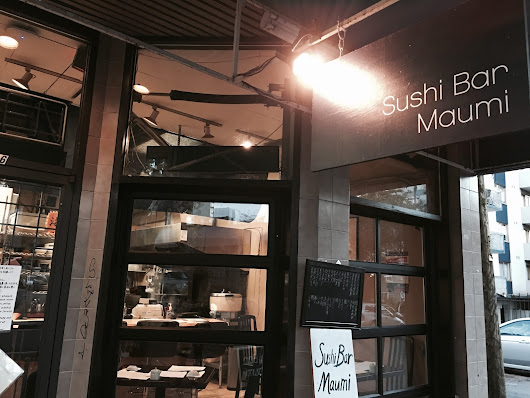 Sophia Eats: Sushi Bar Maumi: Fish directly from Japan
