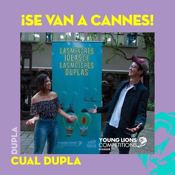 Eduardo Chiriboga, alumni de Publicidad, representará a Ecuador en el Festival de Cannes