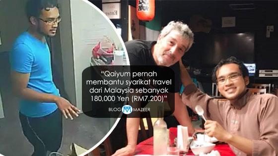 Mulianya Hati Qaiyum, Lelaki Baju Biru Dalam Viral Rakyat Malaysia Pecah Dinding Dan Tinggal Tahi Di Shower Room Di Jepun