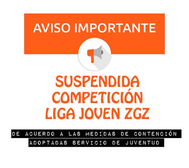 LIGA JOVEN ZGZ T SUSPENDIDA TEMP 2019-2020