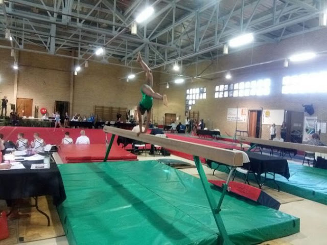 Team Nigeria return home from Continental Gymnastics Championship due to lack of funds