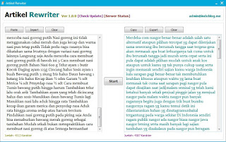 Download Software Spintax Generator Bahasa Indonesia Gratis