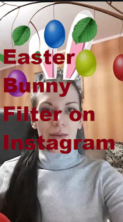 Easter bunny filter || How to get Easter Bunny Filter on Instagram