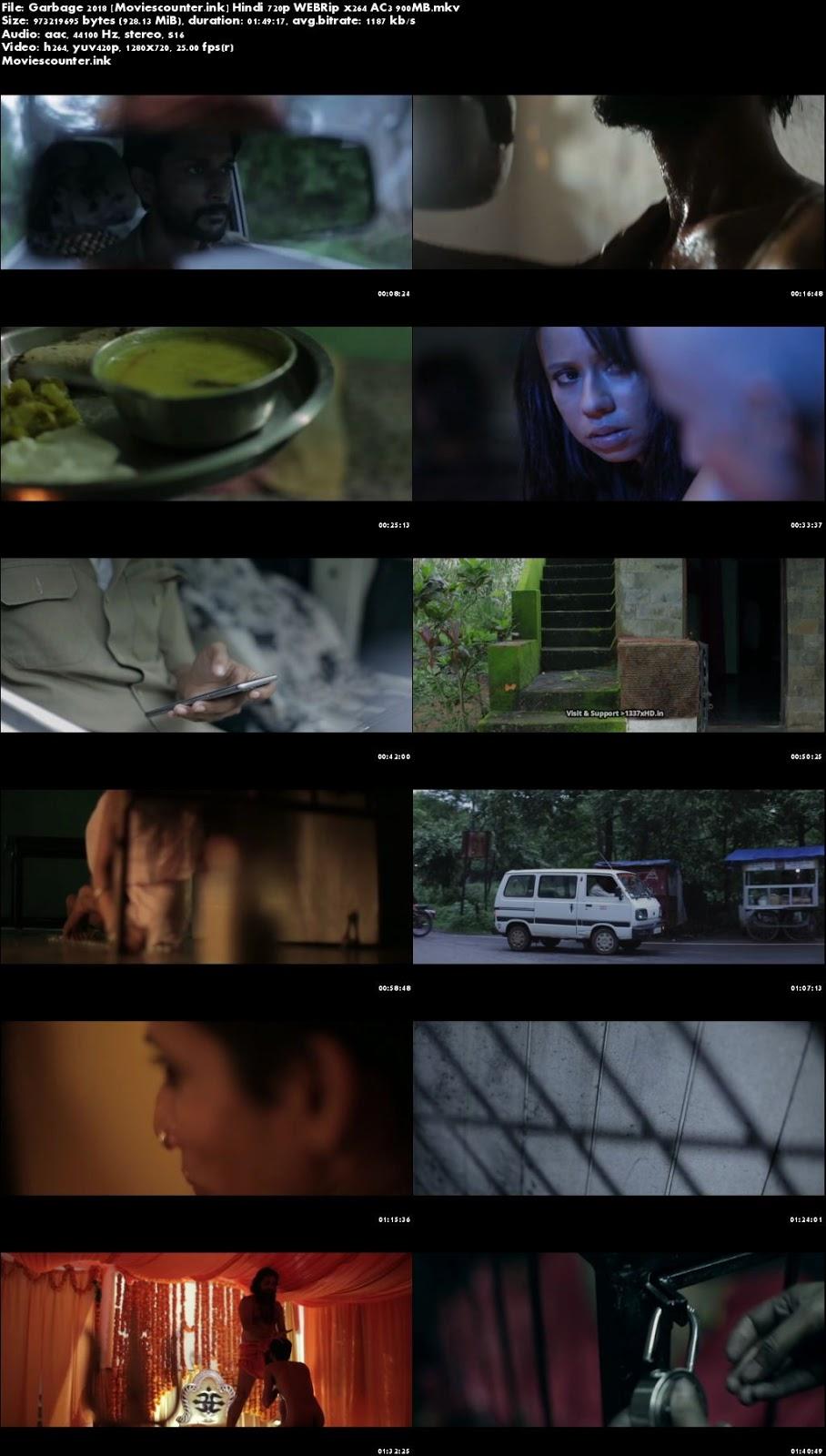 Screen Shots Garbage 2018 Hindi Dubbed HD 720p