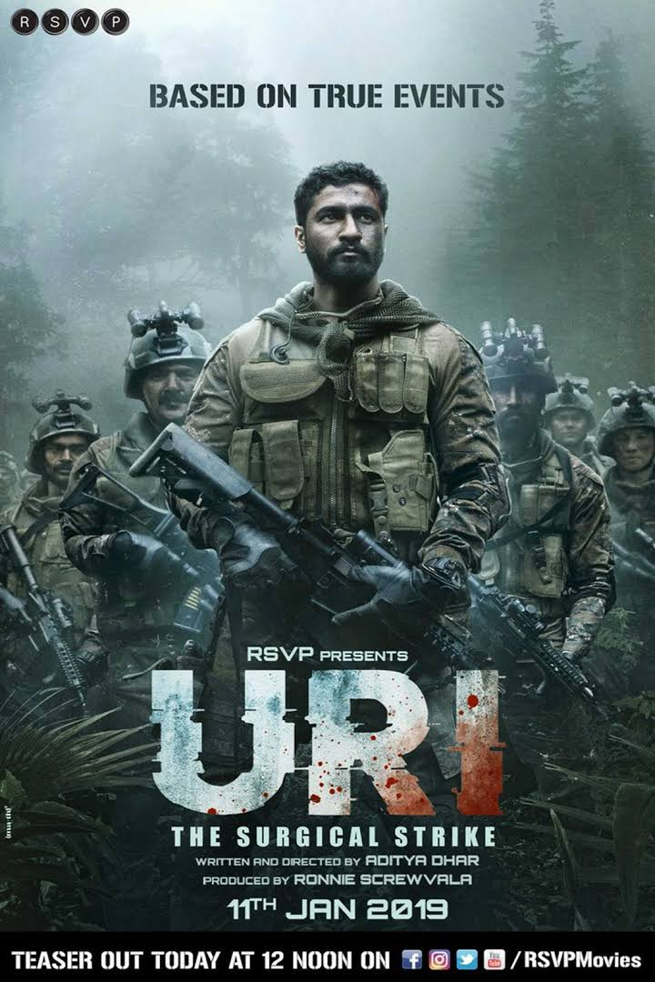 URI:The Surgical Strike (2019) Hindi 720p Pre-DVDRip x264 1.3GB