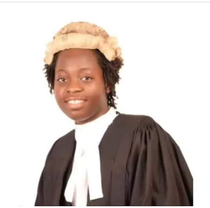 See the youngest Nigerian Lawyer who graduated at 18years
