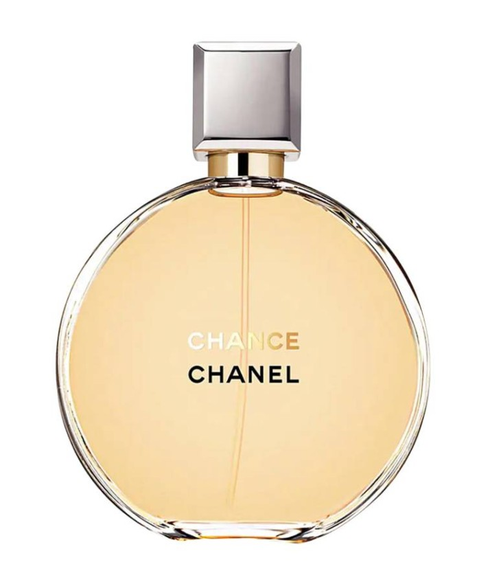 Chance perfume by Chanel This elegant fragrance from Chanel is as light as gentle, but not so light that you do not feel it, as the French house does not know this type of invisible perfume. A lush musk base for a distinctive feeling of cleanliness and freshness, ideal to wear in the early morning, and go confidently to your meetings.