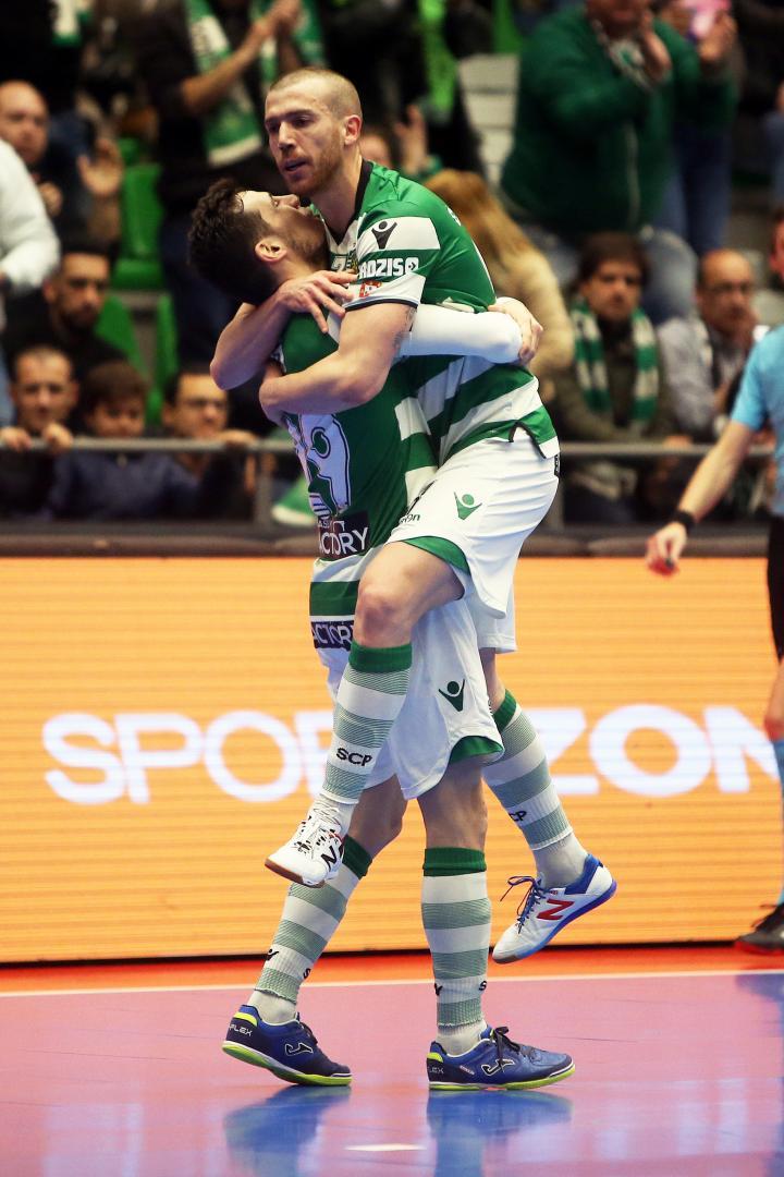 4976360c26 O Sporting recebeu o Quinta dos Lombos em jogo a contar para a 21ª jornada  da Liga Sport Zone e obteve uma goleada por 8-0