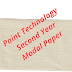 PAINT TECHNOLOGY SECOND YEAR MODAL PAPER