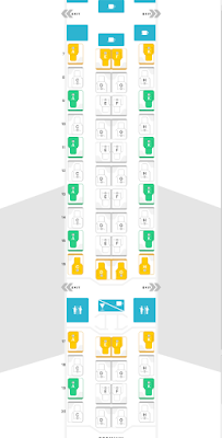 """ANA New 777 Business Class """"The Room"""" Seat Map"""