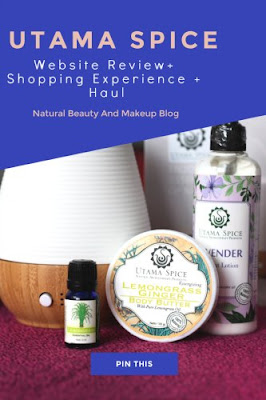 Utama Spice website review, my shopping experience and haul on Natural Beauty And Makeup blog
