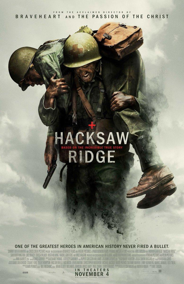 Download Hacksaw Ridge (2016) Full Movie in English Esub Audio BluRay 720p [900MB]