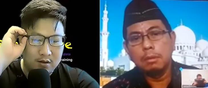 Debat Panas Pendeta Kontroversial Jozeph Paul Zhang vs. Ustad Mashyud