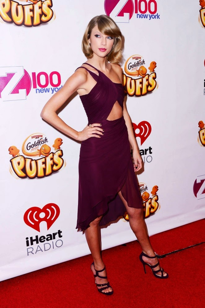 Taylor Swift – Z100's Jingle Ball 2014 in NYC