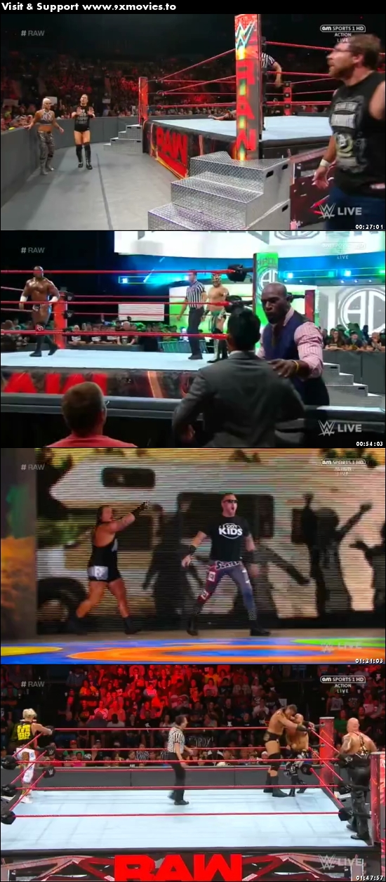 WWE Monday Night Raw 12 June 2017 HDTV 480p 500mb