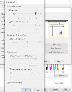 Perfil de tinta para la C6500