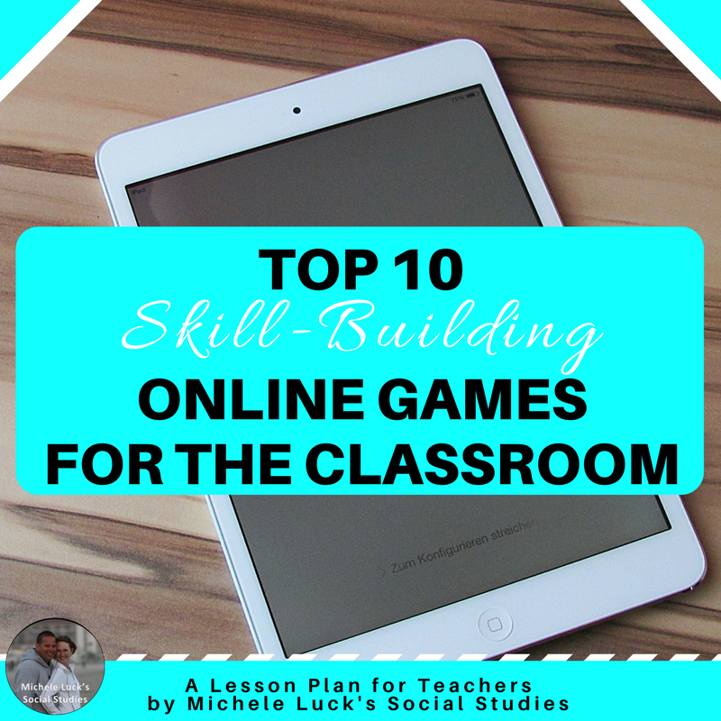 Online Games For Students In The Classroom