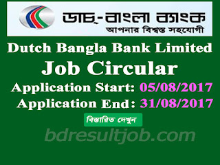 Dutch Bangla Bank Limited ADC Manager & ADC Senior Executive