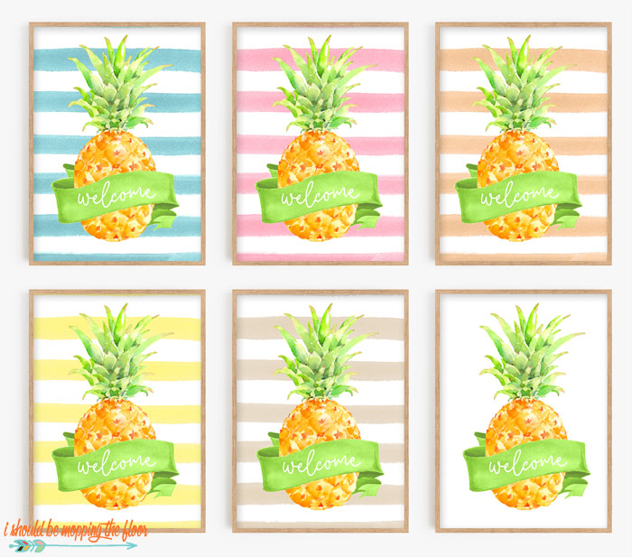 Free Pineapple Printable
