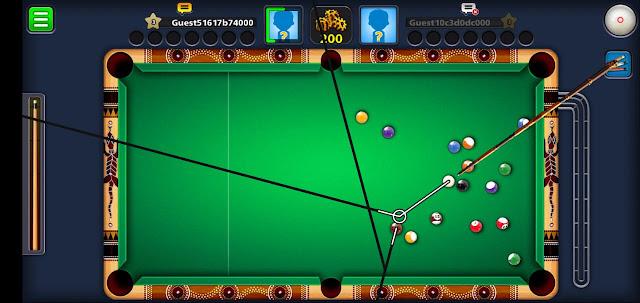 8 ball pool line hack