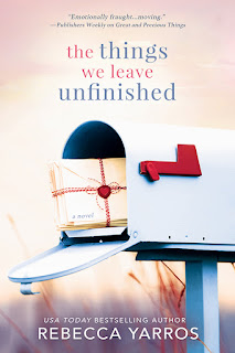 Review of The Things We Leave Unfinished cover