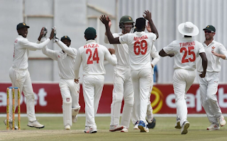 Cricket Highlightsz - Afghanistan vs Zimbabwe 1st Test 2021