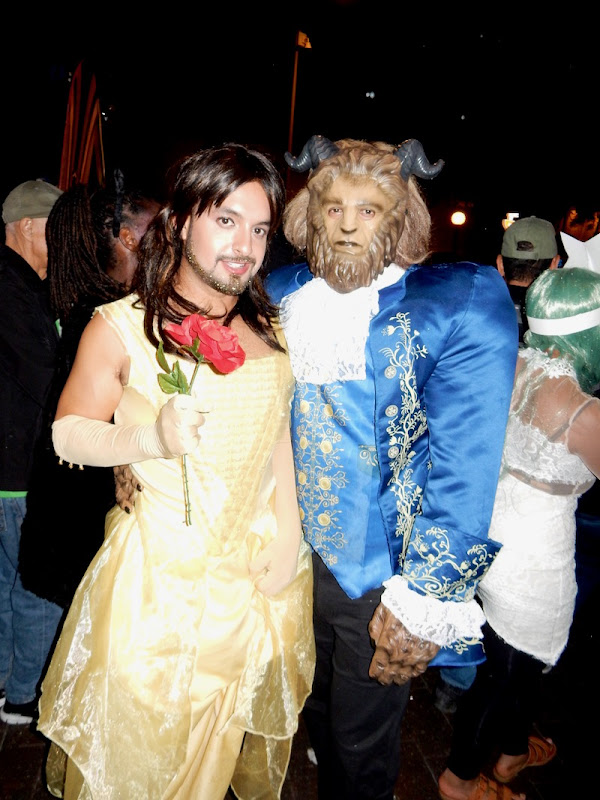 Beauty and Beast costumes West Hollywood Halloween