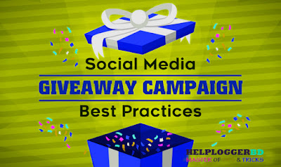 Social Media Giveaway Campaign Best Practices