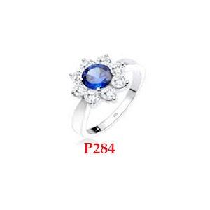 Cincin perempuan cantik - cincin perak 925