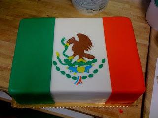 Mexican Flag Cake Recipe