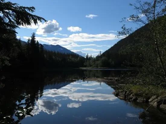 Lower Dewey Lake Trail in Skagway, Alaska