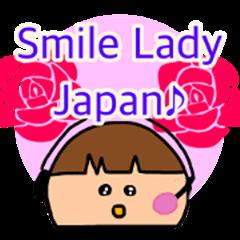 Smile lady japan