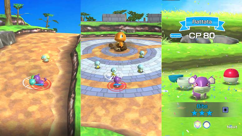 Pokémon Rumble Rush Stage
