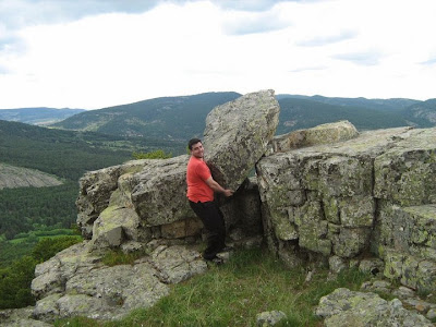 Moncho, eixecacódols, roquerol, roca, piedra