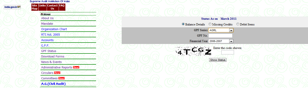 What & How: How to check GPF Status?
