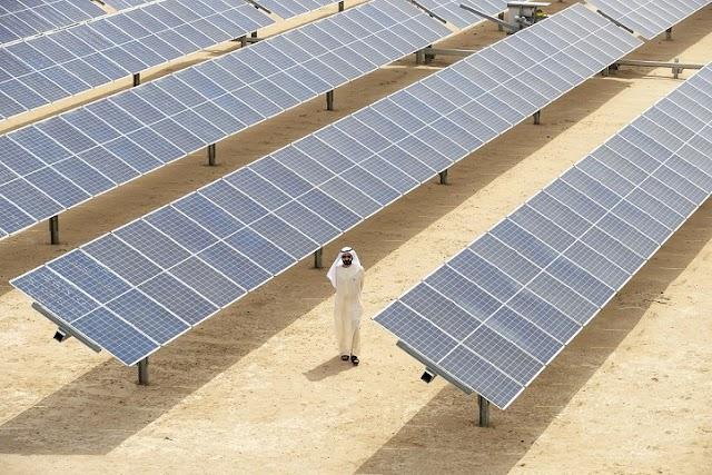 تدشين مركز الابتكار التابع لهيئة كهرباء ومياه دبي والمرحلة الثالثة بقدرة 800 ميجاوات من مُجمَّع محمد بن راشد آل مكتوم للطاقة الشمسية