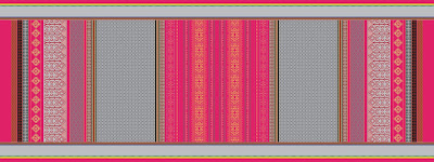 Traditional Stole Textile Print