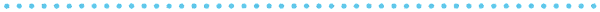 ドットのライン素材(青)