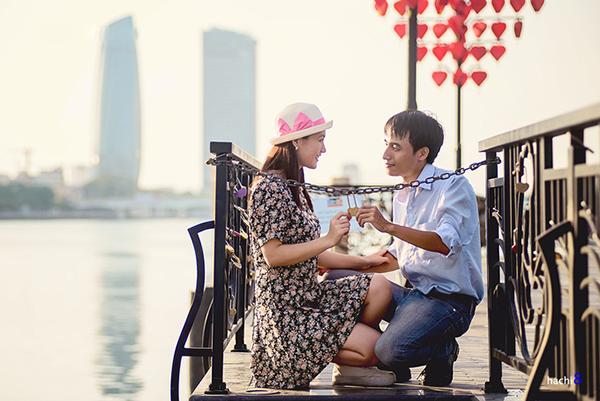 Cầu tình yêu - Điểm hẹn mới ở Đà Nẵng