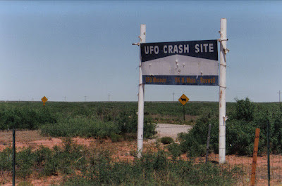 The UFO 1947 crash site
