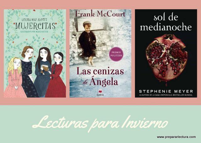 recomendación de libros para los meses fríos