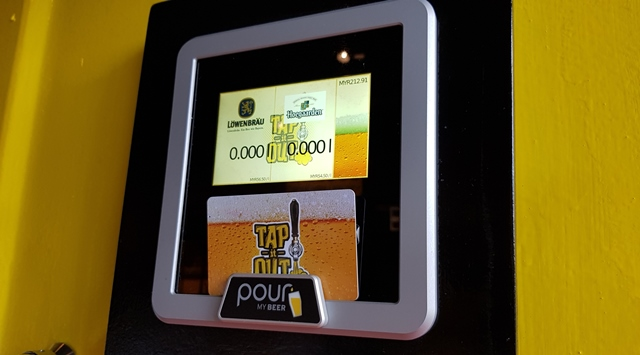 Tap It Out Solaris Mont Kiara Malaysia 1st Beer ATM