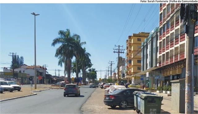 TÚNEL DE TAGUATINGA - Ônibus passarão por Avenida das Palmeiras durante a obra